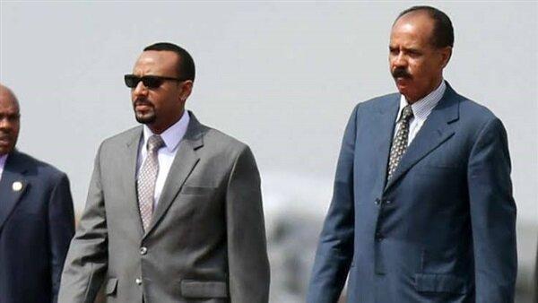 نخست وزیر اتیوپی با رئیس جمهور اریتره ملاقات می نماید