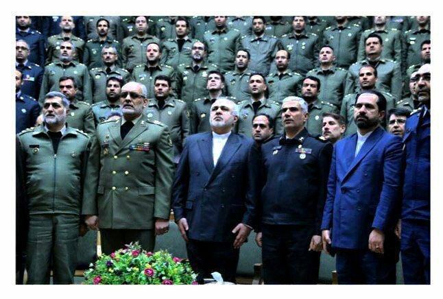 پیغام ظریف به مناسبت روز ارتش