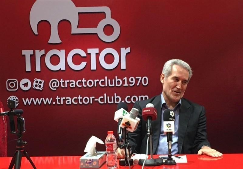 مدیرعامل تراکتور: فوتبال ایران فقط از نظر پولی حرفه ای است، درباره مطالبات رشید مظاهری محکوم شدیم، قرارداد 10میلیاردی خیانت به طرفدار است